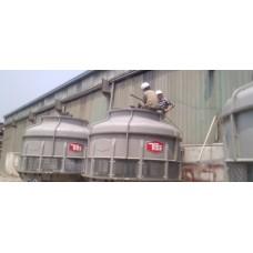 Tháp giải nhiệt tashin - lắp đặt tháp giải nhiệt 80RT