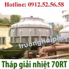 Lắp đặt tháp giải nhiệt 70RT trên toàn quốc