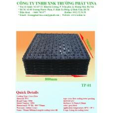 Đặc điểm của tấm tản nhiệt PVC 800x750mm
