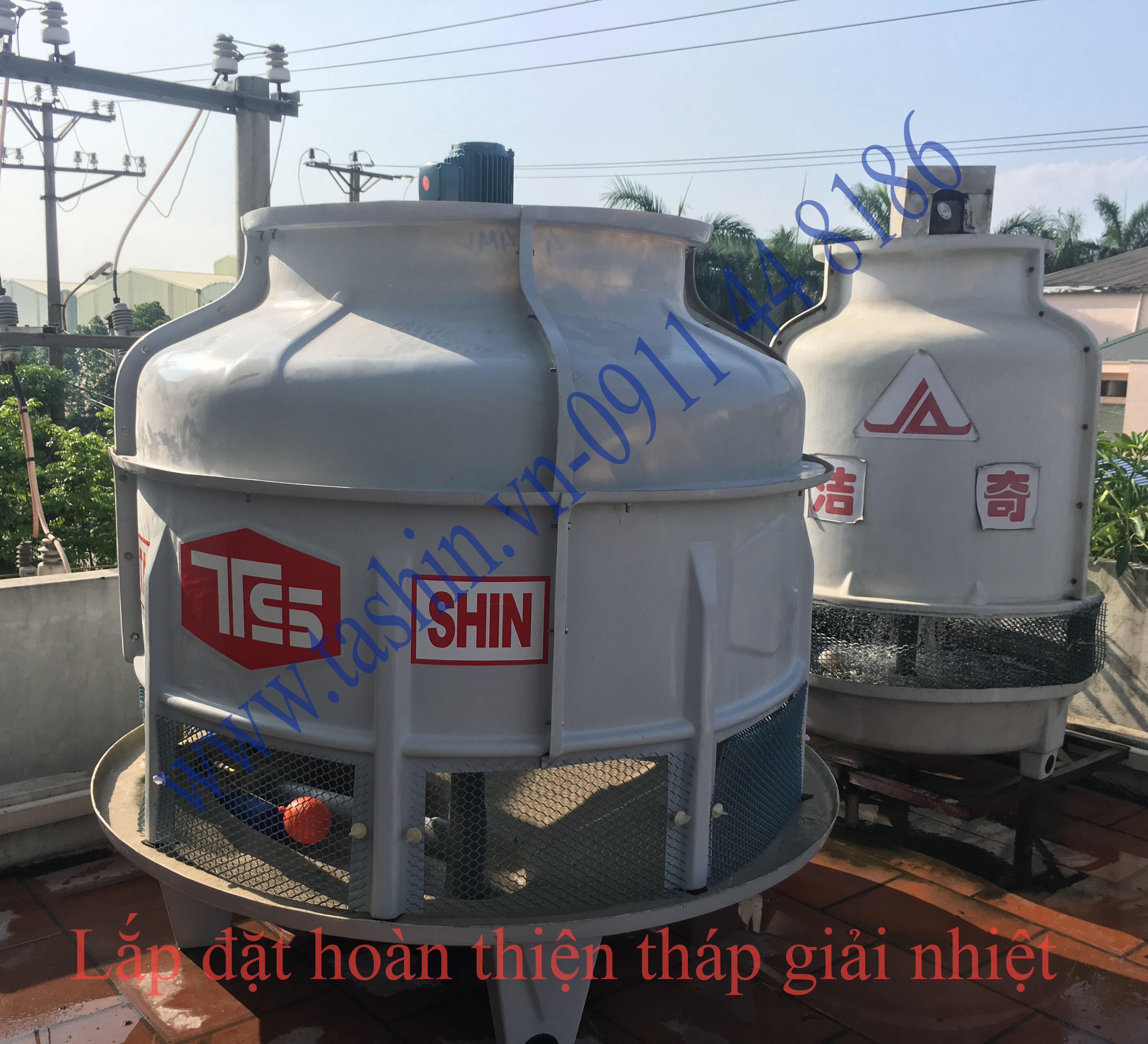 www.123nhanh.com: Cách lắp đặt tháp giải nhiệt Tashin